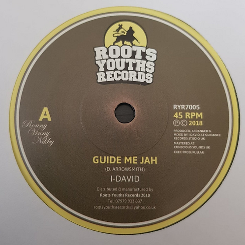 I DAVID GUIDE ME JAH
