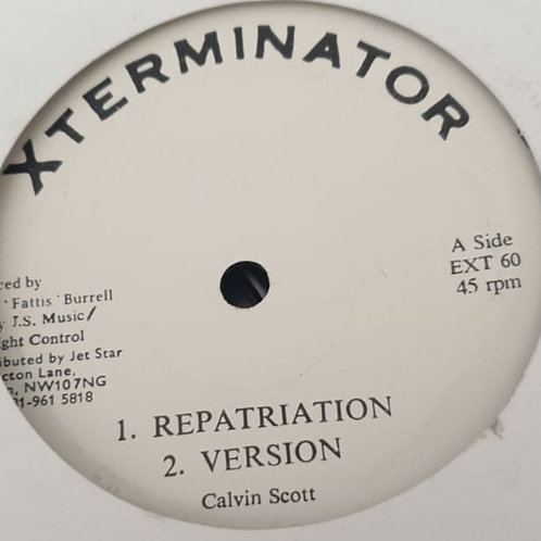 REPATRIATION COCO TEA EXTERMINATIOR 12""