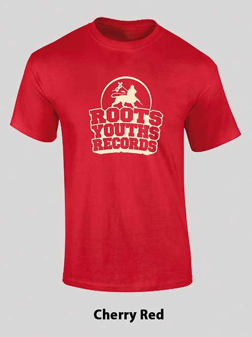 CHERRY RED ROOTS YOUTHS RECORDS T SHIRT