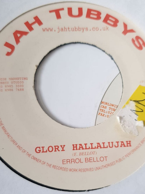 GLORY HALLALUJAH ERROL BELLOT