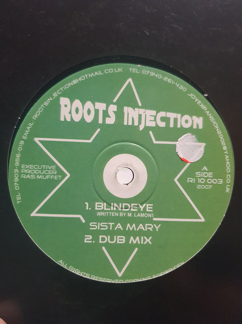 BLIND EYE / DEM LOST SISTA MARY RAS MUFFET ROOTS INJECTION
