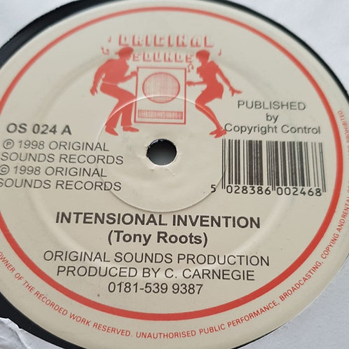 INTENSIONAL INVENTION TONY ROOTS ORIGINAL SOUNDS