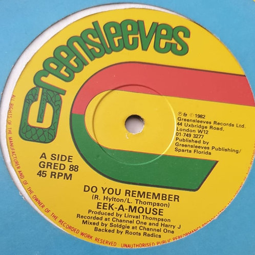 """DO YOU REMEMBER EEK A MOUSE ORIGINAL GREENSLEEVES 12"""""""