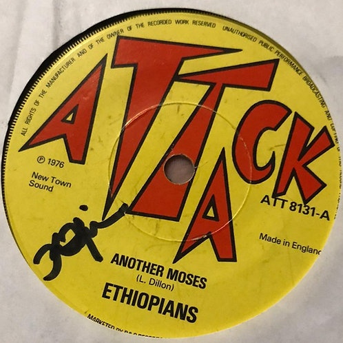 ANOTHER MOSES/ I CAN´T UNDERSTAND - ETHIOPIANS / SYLFORD WALKER