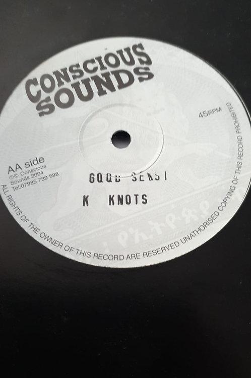 "GOING HOME / GOOD SENSI KENNY KNOTS CONSCIOUS SOUNDS 10"""