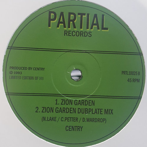 JAH SEE AND KNOW DANNY RED  ZION GARDEN CENTRY PARTIAL RECORDS