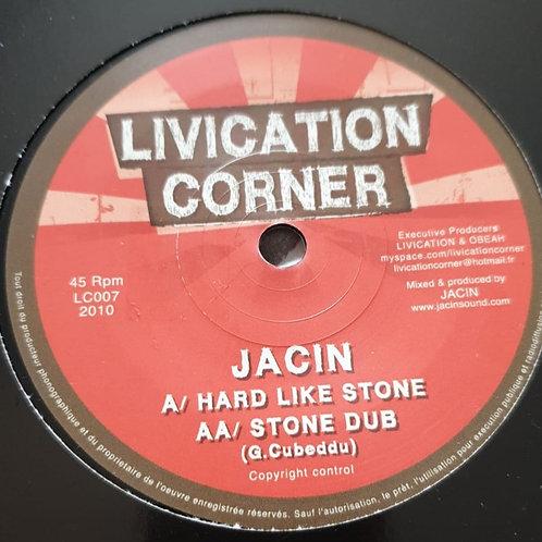 HARD LIKE STONE JACIN