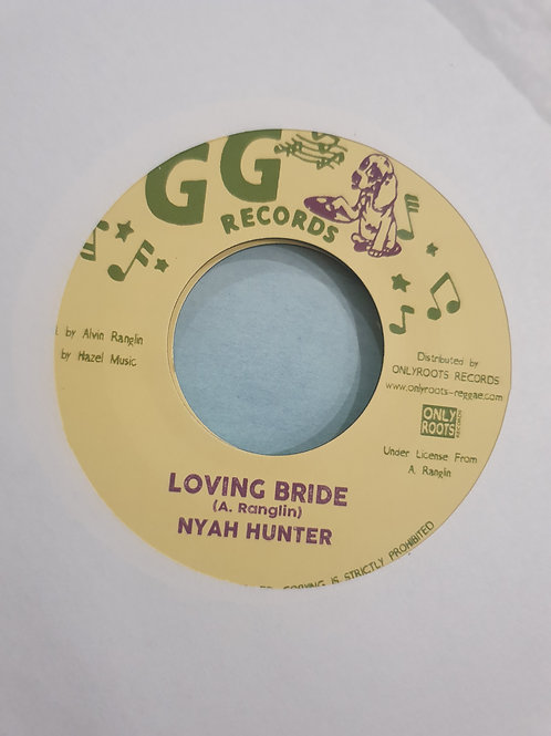 LOVING BRIDE NYAH HUNTER G G RECORDS REISSUE
