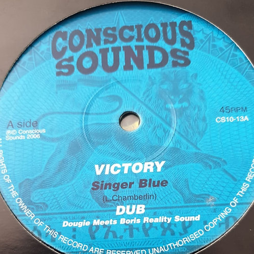 Singer Blue / The Bush Chemists – Victory / Sounds From De Ground