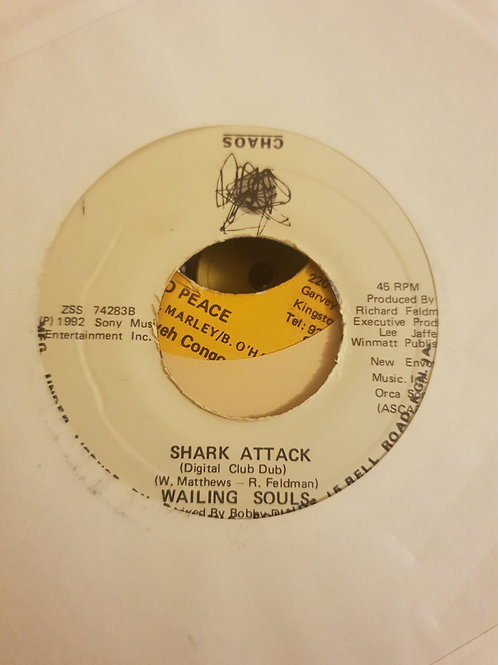 "SHARK ATTACK WAILING SOULS ORIGINAL CHAOS 7"""
