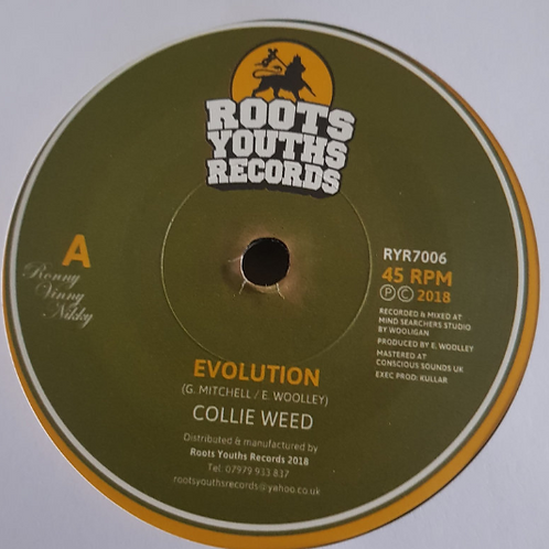 COLLIE WEED - EVOLUTION