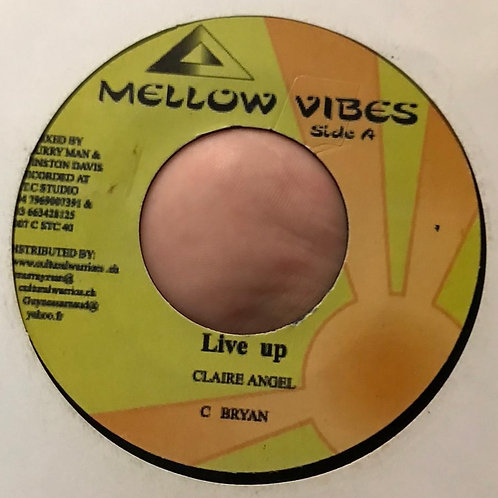 LIVE UP CLAIRE ANGEL