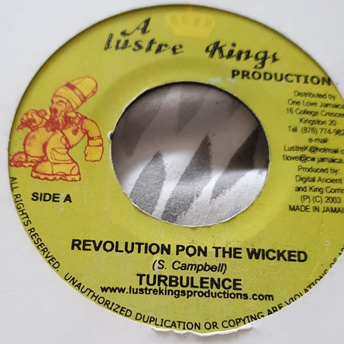 REVOLUTION PON THE WICKED TURBULENCE
