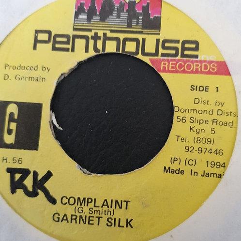 COMPLAINT GARNET SILK