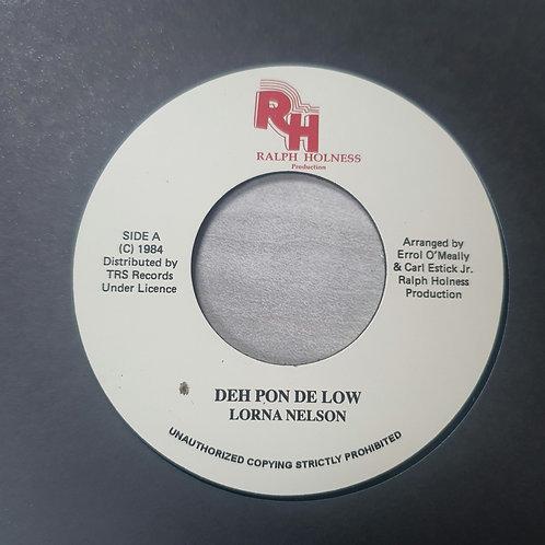 DEH PON DE LOW LORNA NELSON TRS RECORDS