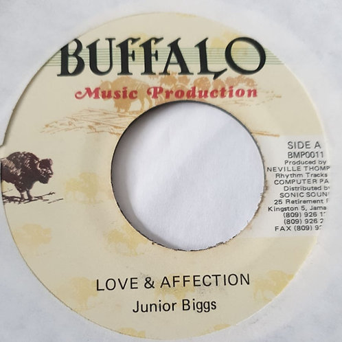 LOVE AND AFFECTION JUNIOR BIGGS