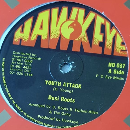 """YOUTH ATTACK DESI ROOTS HAWKEYE ORIG 12"""""""