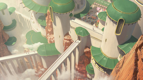 Tesseract-Cliff City