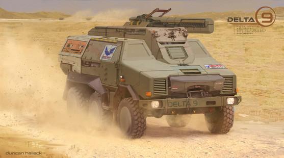 Tesseract - Assault Vehicle