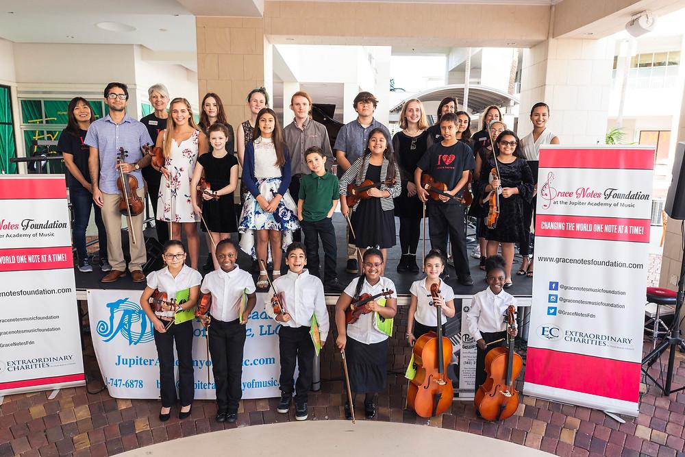 2020 Grace Notes Music Foundation Scholarship Recipients