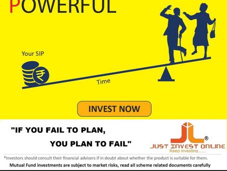 """Start Saving... Start SIP.... Start Planning....      """"If you Fail to Plan...., You Plan to Fail.."""""""