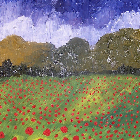 Painting a New Horizon - Art Therapy at East Cheshire Hospice with Fay Mitchell