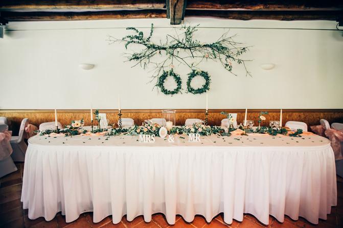 TABLE DES MARIES
