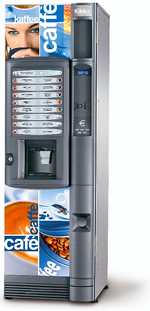 установка кофе автомата кикко