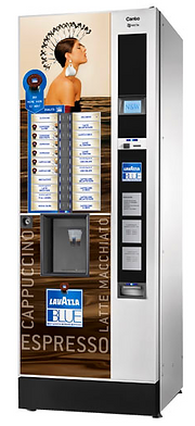 установка кофе автомата канто лавацца