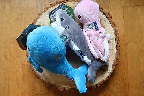 Ocean cuddler dog toys