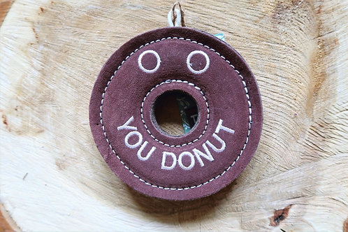 Derrick the Donut Eco Dog Toy
