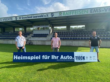 SV Grenzland begrüßt neuen Sponsor
