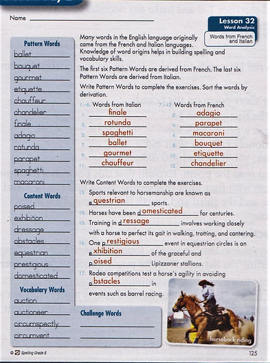 6th Spelling pg. 125.JPG