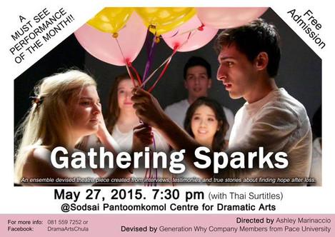 Gathering Sparks Poster