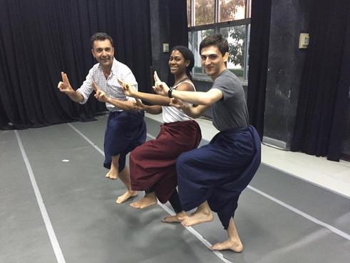 Thai dance!