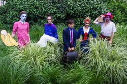 The Cult Next Door ensemble
