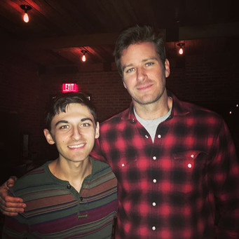 With Armie Hammer
