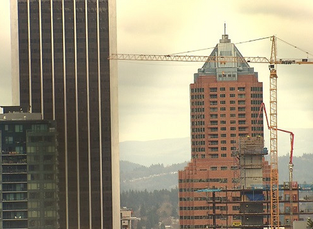 Portland's New Apartment Construction Ramping Up