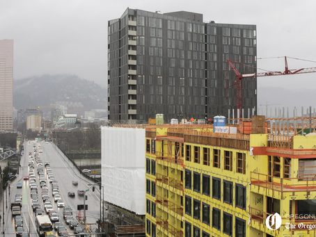 Portland's Apartment Construction is Drying Up