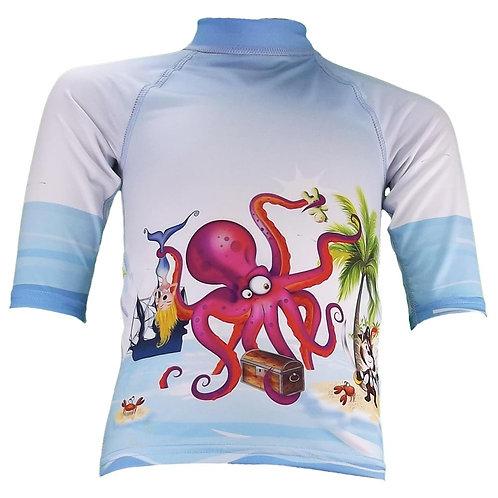 Tee-shirt anti-uv manches 3/4 Pirate