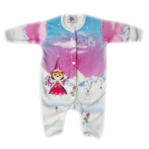 Combinaison polaire bébé Princesse des glaces