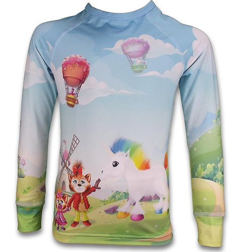 Sous-pull thermique Licorne