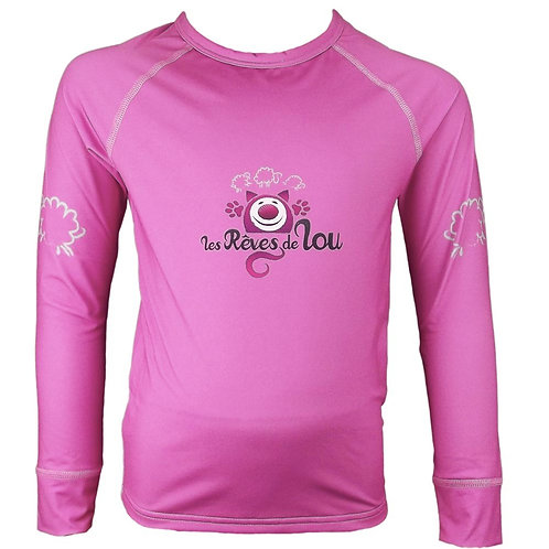 Sous-pull thermique Rose