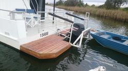 Swim deck