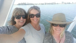 Selfie on the Clarence-G2Y houseboat