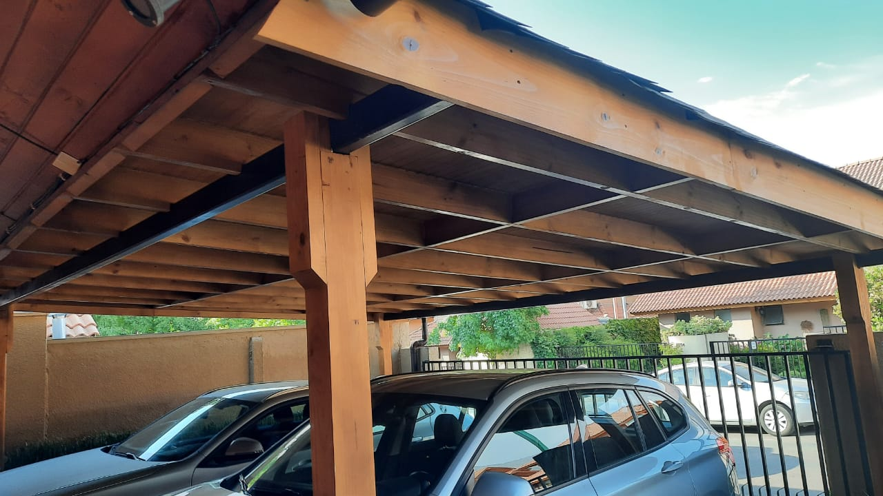 techo estacionamiento