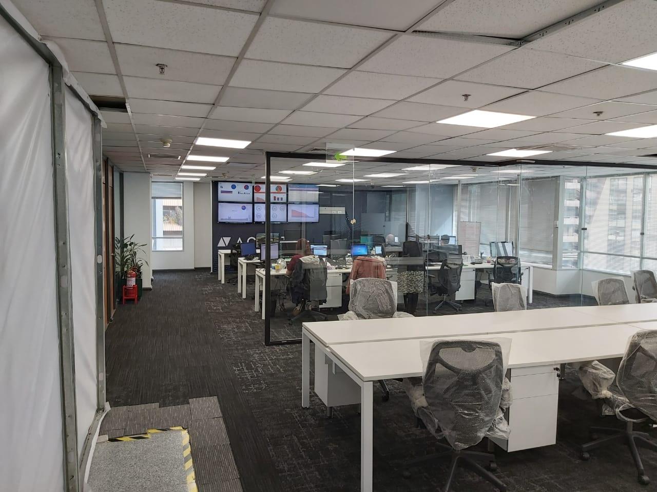 habilitación de oficinas