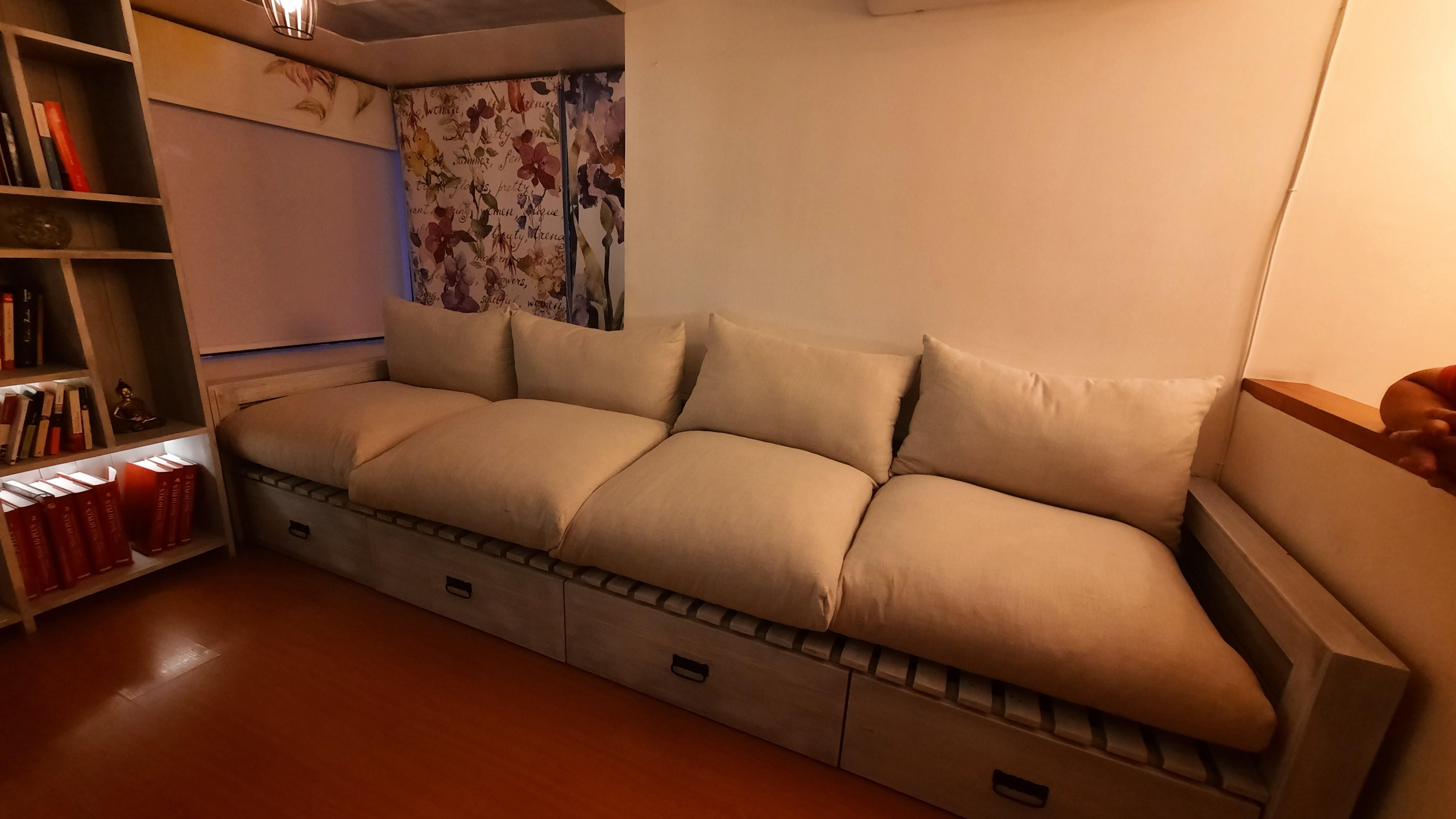 Diseño y fabricación de sofa