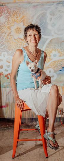Katherine Baronet and Mini Cooper