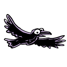Raven PNG .png